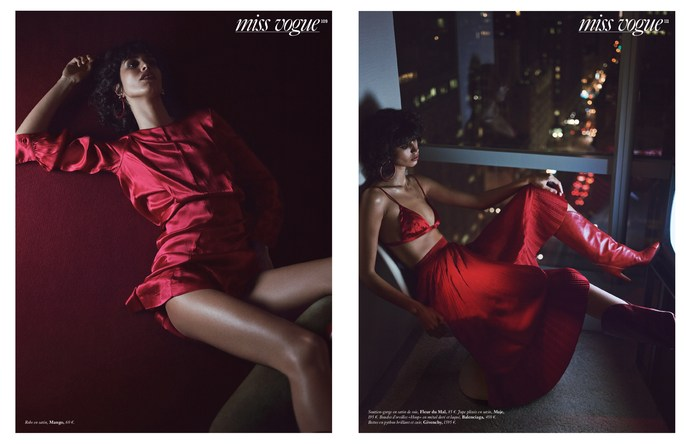 Petros Petrohilos, Tomo Jidai, Vogue Paris, hair, makeup, Gregory Harris, Mica Arganaraz
