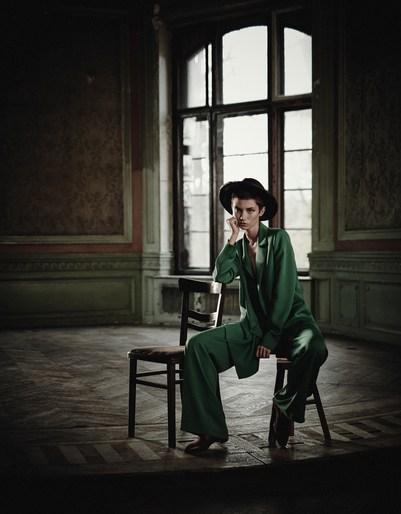 Boo George, Cleo Cwiek, 2018, March 2018, Vogue Poland, Alice Tubilewitz