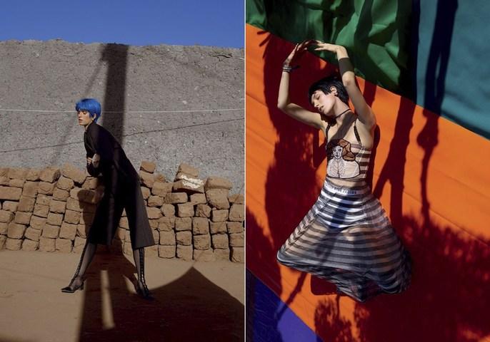 Vogue Italia, Editorial, Patti Wilson, source: vogue italia, vivianne sassen
