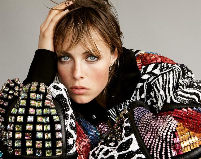 Anja Rubik, Doutzen Kroes, edie campbell, Editorial, Vogue German, Daniel Jackson, Petros Petrohilos, makeup