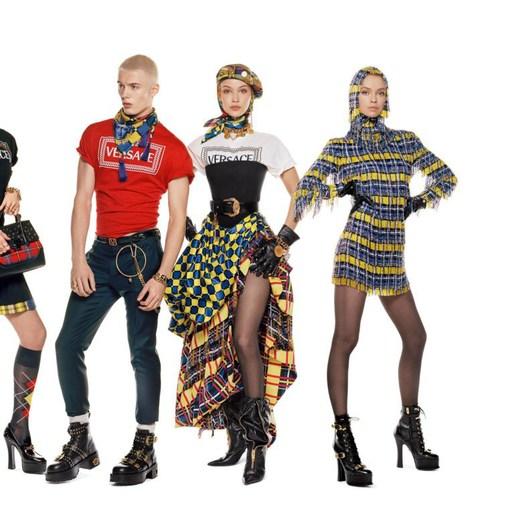 Jacob K, Versace, Pat McGrath, steven meisel, styling, makeup, 18AW