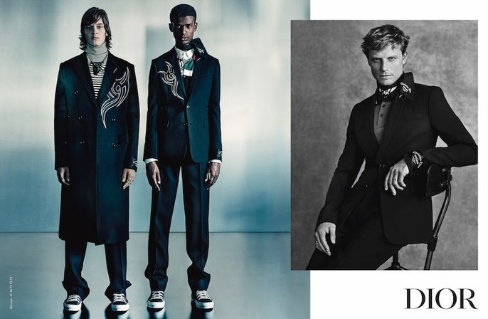 Dior Homme, Jacob K, styling, Paolo Roversi, aw18