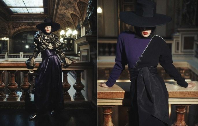 Petros Petrohilos, Vogue Paris, Lachlan Bailey, Anna Ewers, 2018