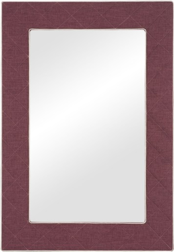 The Brewster Tufted Mirror  -