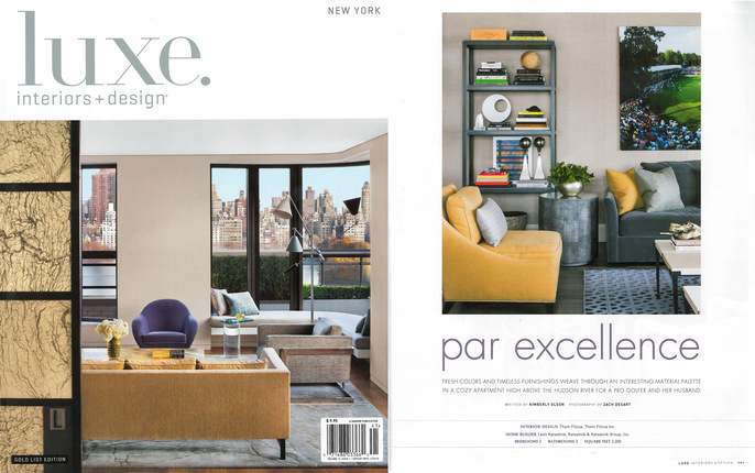 Luxe Magazine Featuring Thom Filiciau0027s Par Excellence