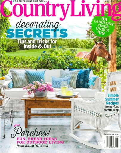 Country Living - May 2016 -