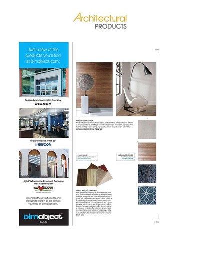 ArchitecturalProducts.com August 2016 -