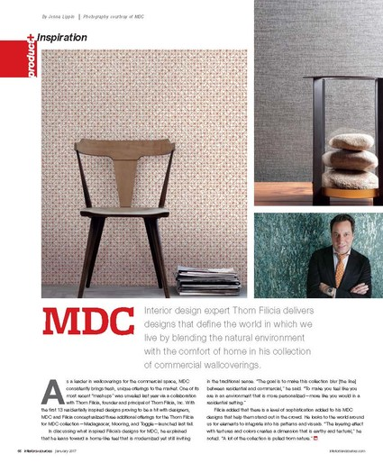 featuring the inspiration behind the tf home collection for mdc