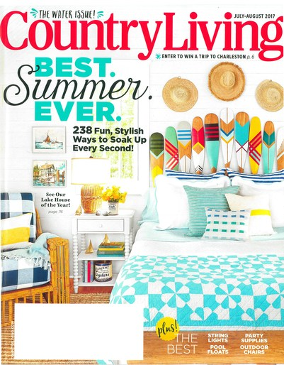Country Living July-August 2017 -
