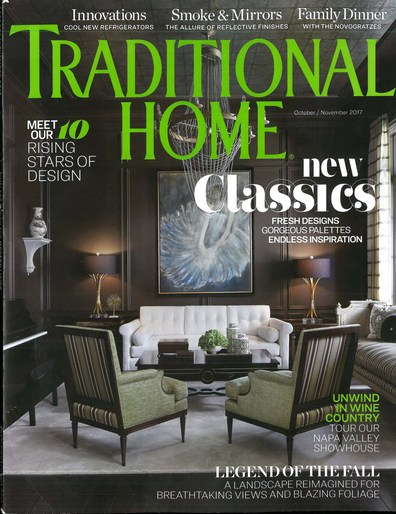 Traditional Home October/November2017- Kravet Feature -